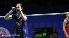 中公赛半决赛丨谌龙打入决赛,黑马高昉洁击败马琳