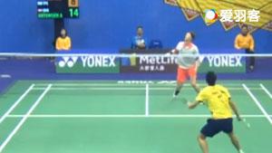 安东森VS许仁豪 2017香港公开赛 男单1/16决赛视频