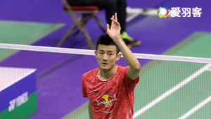 谌龙VS李东根 2017香港公开赛 男单1/4决赛视频