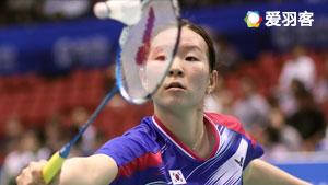 李蔷美VS金达汶 2017韩国大师赛 女单半决赛视频