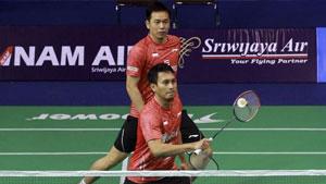亨德拉/阿山重组,2-0获胜夺得印尼全国锦标赛冠军