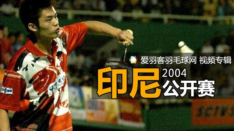 2004年印度尼西亞羽毛球公開賽