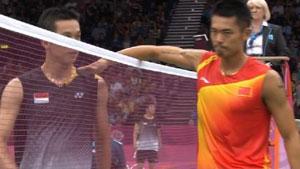林丹VS陶菲克 2012奥运会 男单1/8决赛视频