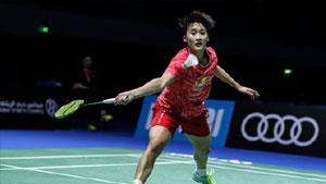 陈雨菲VS因达农 2017世界羽联总决赛 女单小组赛视频
