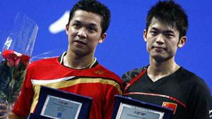 林丹VS陶菲克  2009年法国公开赛男单决赛明仕亚洲官网