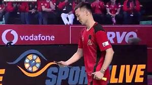 李炫一VS贾亚拉姆 2018印度超级联赛 混合团体小组赛视频