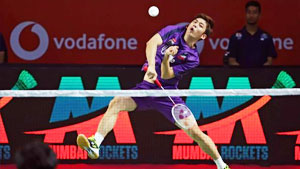 李龙大/陈文宏VS李洋/雷迪 2018印度超级联赛 混合团体小组赛365bet体育在线