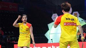 斯基·瑞迪/金沙朗VSM.R. Arjun/加夫列拉 2017印度超级联赛 混合团体小组赛视频