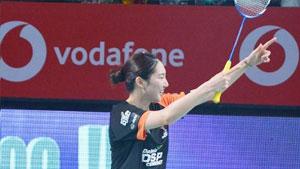 辛德胡VS成池铉 2018印度超级联赛 混合团体视频