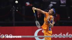孙完虎不敌普拉诺,李龙大混双输球丨印度羽超第18轮