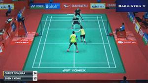萨普特拉/塞蒂亚万VS吴思飞/伊祖丁 2018印尼大师赛 男双1/16决赛视频