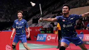艾哈迈德/纳西尔VS李洋/许雅晴 2018印尼大师赛 混双1/8决赛视频