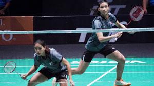 基蒂塔拉庫爾/拉溫達VS邁肯/蒂格森 2018印尼大師賽 女雙1/8決賽視頻