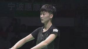 陈雨菲VS陈晓欣 2017中国羽超联赛 混合团体半决赛视频