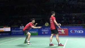 刘成/刘雨辰VS蔡瑞卿/章思杰 2017中国羽超联赛 混合团体半决赛视频