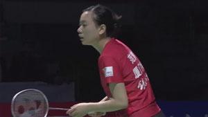 范梦艳VS王子娴 2017中国羽超联赛 混合团体半决赛视频