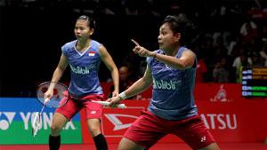 波莉/拉哈尤VS尤尔/佩蒂森 2018印度公开赛 女双半决赛视频