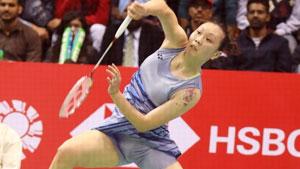 张蓓雯VS辛德胡 2018印度公开赛 女单决赛视频