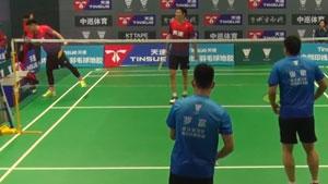 罗富/张敬VS王威/刘禄 2017天速龙凤杯城市混合团体赛 男双决赛视频