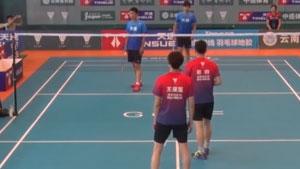 谢松涛/张晋VS王星鉴/赵由 2017天速龙凤杯城市混合团体赛 男双决赛视频
