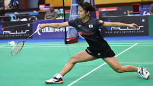 奥原希望VS何冰娇 2018亚洲团体锦标赛 女团决赛365bet体育在线