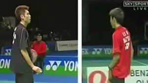 林丹VS李宗伟 2006全英公开赛 男单半决赛视频