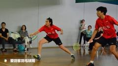 唐渊渟出国打球输了!呆坐场边看球