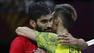 李宗伟VS斯里坎特 2018英联邦运动会羽毛球 男单决赛视频