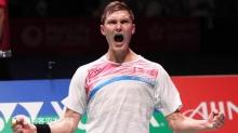 安赛龙荣获欧洲羽联2017年度最佳男选手