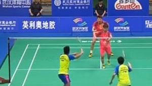 王懿律/黄东萍VS艾哈迈德/纳西尔 2018亚锦赛 混双决赛视频