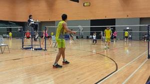 【低视角】李卓耀vs黃永棋 2018全港锦标赛高级组男单视频