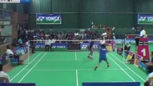 普里耶修VS基兰乔治 2018印度全国青年排名赛 男单决赛视频