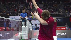 羽球老艺术家鲍伊/摩根森丨技巧与暴力结合的丹麦羽球