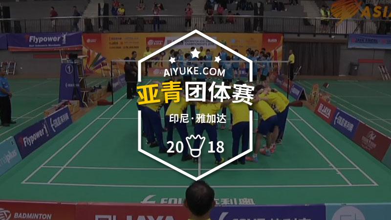 2018年亚洲青年羽毛球锦标赛