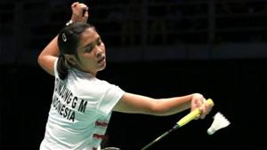 玛莉丝卡VS吉尔莫 2018羽毛球世锦赛 女单1/32决赛视频