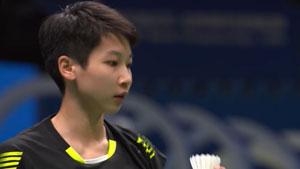 陈晓欣VS杰克斯菲德 2018羽毛球世锦赛 女单资格赛视频
