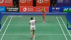内维尔VS阿莉耶 2018羽毛球世锦赛 女单资格赛一分6合视频