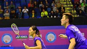 邓俊文/谢影雪VS陈炳顺/吴柳萤 2018羽毛球世锦赛 混双1/4决赛视频