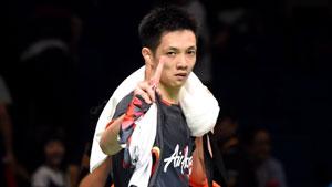 刘国伦VS常山干太 2018羽毛球世锦赛 男单1/4决赛视频