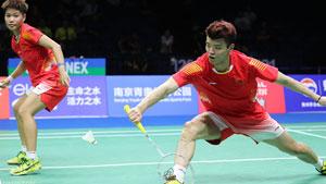 王懿律/黄东萍VS邓俊文/谢影雪 2018羽毛球世锦赛 混双半决赛视频