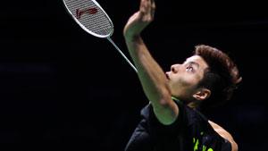 石宇奇VS谌龙 2018羽毛球世锦赛 男单半决赛视频