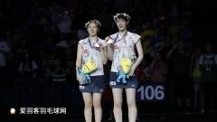 日本女双包揽金银铜牌,松本麻佑/永原和可那杀出一条血路
