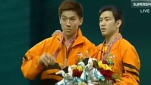 回顾多哈亚运男双决赛,钻石组合最辉煌时刻