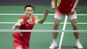 张楠/刘成VS法加尔/阿德里安托 2018亚运会 男团决赛视频