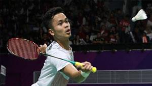 金廷VS谌龙 2018亚运会 男单1/4决赛视频