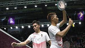 法加尔/阿德里安托VS李俊慧/刘雨辰 2018亚运会 男双半决赛视频