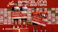 西班牙公开赛落幕,李龙大复出夺首冠