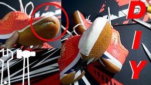 羽毛球鞋侧面容易磨烂?只需几块钱就能解决