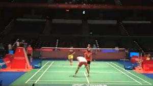 日本公开赛明日打响,今日印尼队进行热身训练