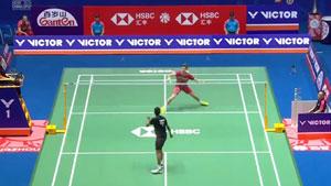 斯里坎特VS格姆克 2018中国公开赛 男单1/16决赛视频